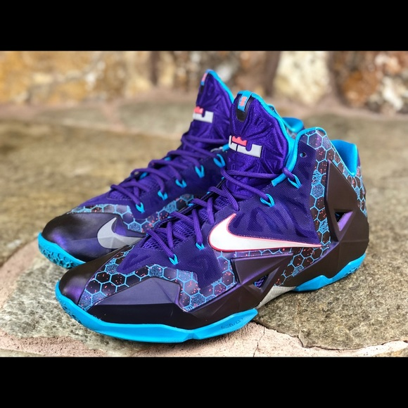 "0b4bc9db49bb Nike Lebron 11 ""Summit Lake Hornets"" men s size 13.  M 5a5bed7d61ca10970fcad9d6"